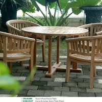 4-Foot Round Table + Frame