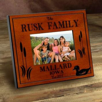 Cabin Series Picture Frames - Wood Duck