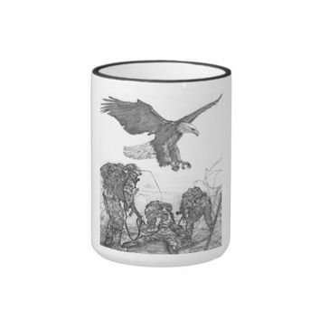 Eagle & Soldiers Ringer Mug