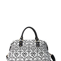 FOREVER 21 Southwest Bound Weekender Black/White One