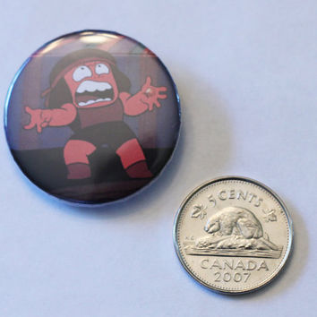 "Angry Ruby 1.25"" button"