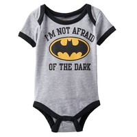 Batman ''I'm Not Afraid of the Dark'' Bodysuit - Baby Boy