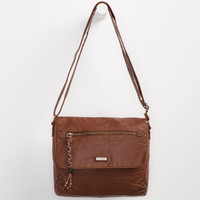 Roxy Tongue Tied Crossbody Bag Brown One Size For Women 25246740001