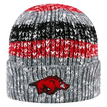 Licensed NCAA Cuffed Knit Wonderland Beanie Hat Top of the World KO_19_1