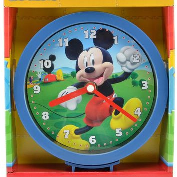 "Mickey Mouse Clubhouse 6"" Wall or Desk Clock"