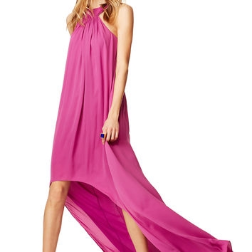 Halston Heritage Orchid Sunrise Maxi Dress