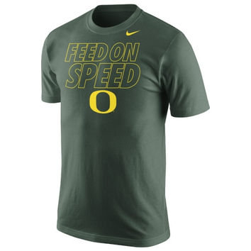 Nike Oregon Ducks Feed the Speed T-Shirt - Green