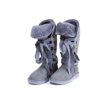 One-nice™ Ugg Boots Black Friday Sale Roxy Tall 5818 Light Grey For Women 111 67