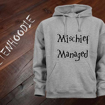 mischief managed hoodie sweatshirt jumper t shirt variant color Unisex size