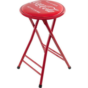 Coca-Cola Delicious Refreshing Folding Stool