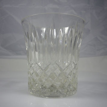 Fostoria Stratton Crystal Rocks Glassware