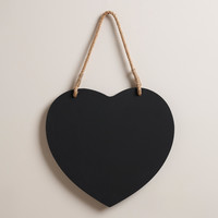 Heart Chalkboard - World Market
