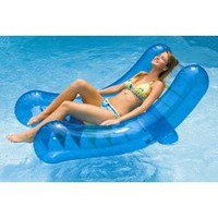 Amazon.com: Rocker Lounger Pool Float Lounge Chair: Patio, Lawn & Garden