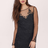 L'atiste Sicily Lace Bodycon Dress