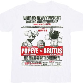 Popeye the Sailor Man Brutus Rematch T-shirt