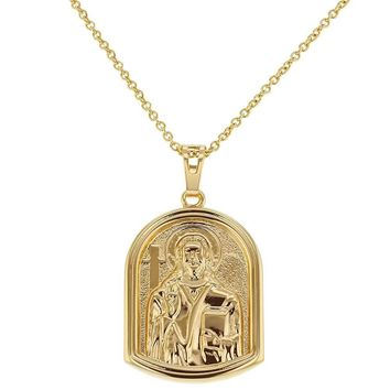 Religious Holy Jesus Christ Necklace Medal Pendant 19""