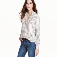 H&M V-neck Blouse $19.99