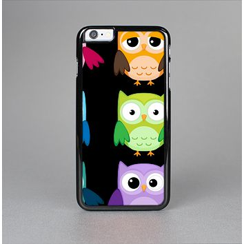 The Emotional Cartoon Owls Skin-Sert for the Apple iPhone 6 Plus Skin-Sert Case