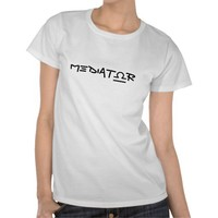 The Mediator Libra Sign Shirts from Zazzle.com