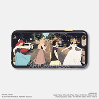 Funny Disney Princess Abbey Road iPhone 6 6Plus case iPhone 5s case iPhone 5C case iPhone 4 4S case 766