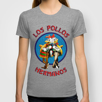 Sparkling heisenberg Breaking Bad Los Pollos Hermanos  T-shirt by pointsalestore