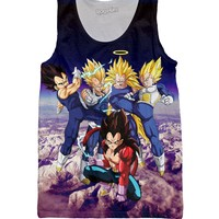 Forms of Vegeta Tank Top