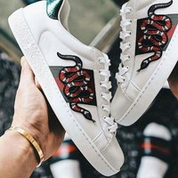 Snake Gucci:Trending Fashion Casual Sports Shoes
