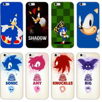 Sonic the Hedgehog silicone TPU Soft phone case For Sony xperia Z Z1 Z2 Z3 Z4 Z5 Compact Mini M2 M4 M5 E3 T3