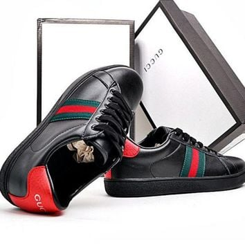 Trendsetter GUCCI Woman Men Fashion Flats Shoes Sneakers Sport Shoes