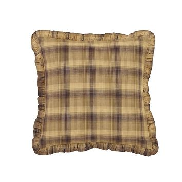 Prescott Fabric Ruffled Pillow