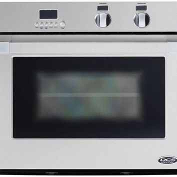 """DCS WOSU-30 DCS 30"""" Single Wall Oven with Convection - Stainless Steel"""
