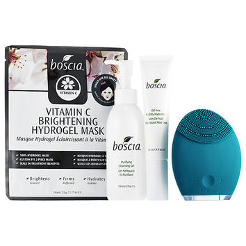 LUNA™ Holiday Cleansing Collection with Boscia for Combination Skin - Foreo | Sephora