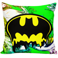 Acid Batman Pillow