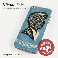 sherlock it must be so boring (2) Phone case for iPhone 4/4s/5/5c/5s/6/6 plus