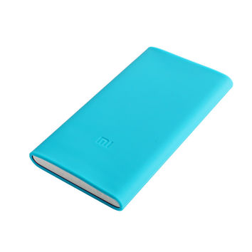 Xiaomi Powerbank 5000mAh Case Mi Power Bank Silicon Cases Rubber Cover Bag for 5000 mAh xiao mi Portable External Battery Pack