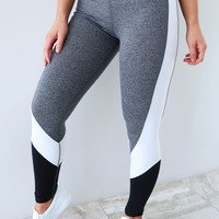Be The Best Pants: Grey/Multi