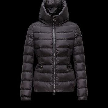 Moncler Raie Hooded Down Puffer Jacket