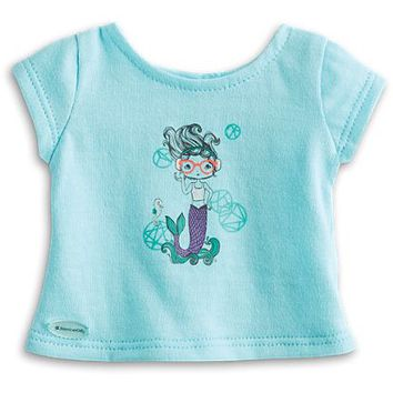 Mermaid Tee for 18-inch Dolls