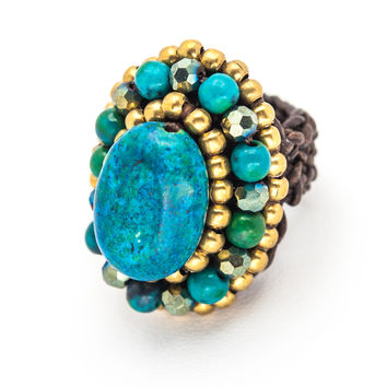 Bold Stone Rings