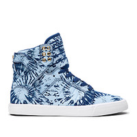 WMNS SKYTOP NAVY/BLUE WASH-WHITE | Official SUPRA Footwear Site