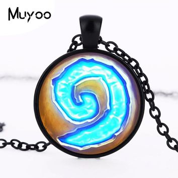 Moon Necklaces Steampunk Triple Moon Goddess World of Warcraft Hearthstone Pendan