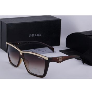 PRADA New glasses men sunglasses women fashion glasses