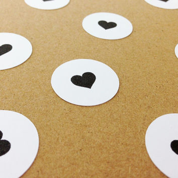 "100 Heart Circle Confetti - 1"" - Bridal Shower, Wedding, Engagement Party, Birthday, Baby Shower, Bachelorette"