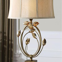 Alenya Gold Table Lamp By Uttermost