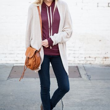 Brown Suede Bucket Bag - Brandy Melville