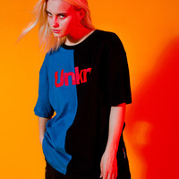 Splice Color Block Tee
