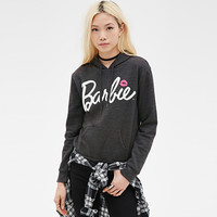 Barbie Print Hooded Sweatshirt