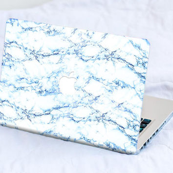 Marble Macbook Skin Macbook Pro Skin Macbook Air Skin Macbook Cover Macbook Decal Macbook Sticker Laptop Skin Stardust Galaxy Blue Marble