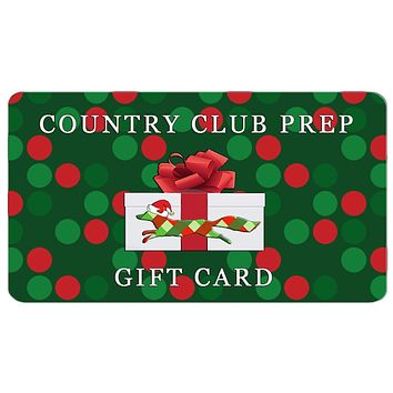 Longshanks Gift Card by Country Club Prep