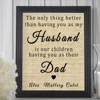 Husband & Father Gift from Wife